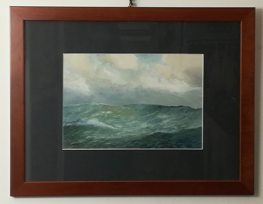 "watercolour ""wave study"""