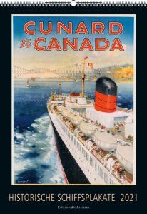Calendario Historische Schiffplakate 2021, Delius Klasing