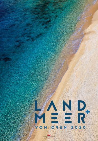 """calendario """"land + meer von oben"""" 2020"""
