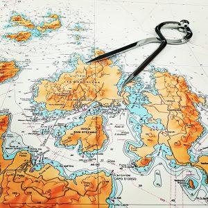 Carte nautiche, da pesca...