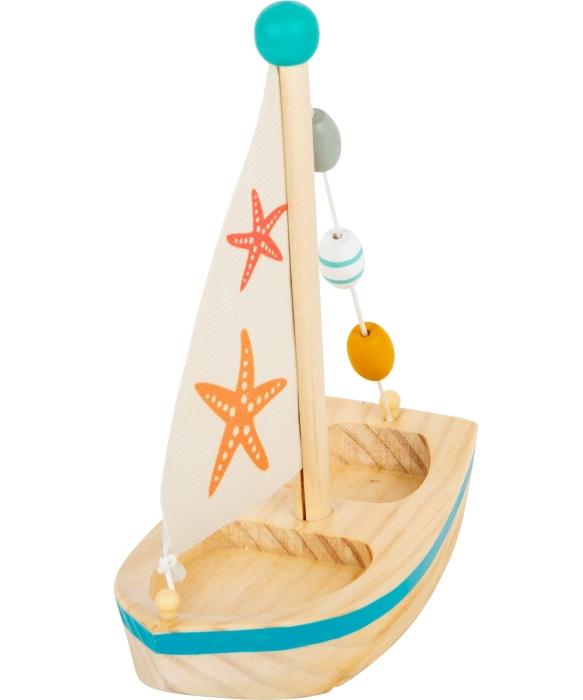 """gioco acquatico """"barca a vela con stella di mare"""""""