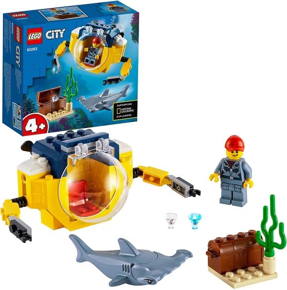 "lego city ""minisottomarino oceanico"""