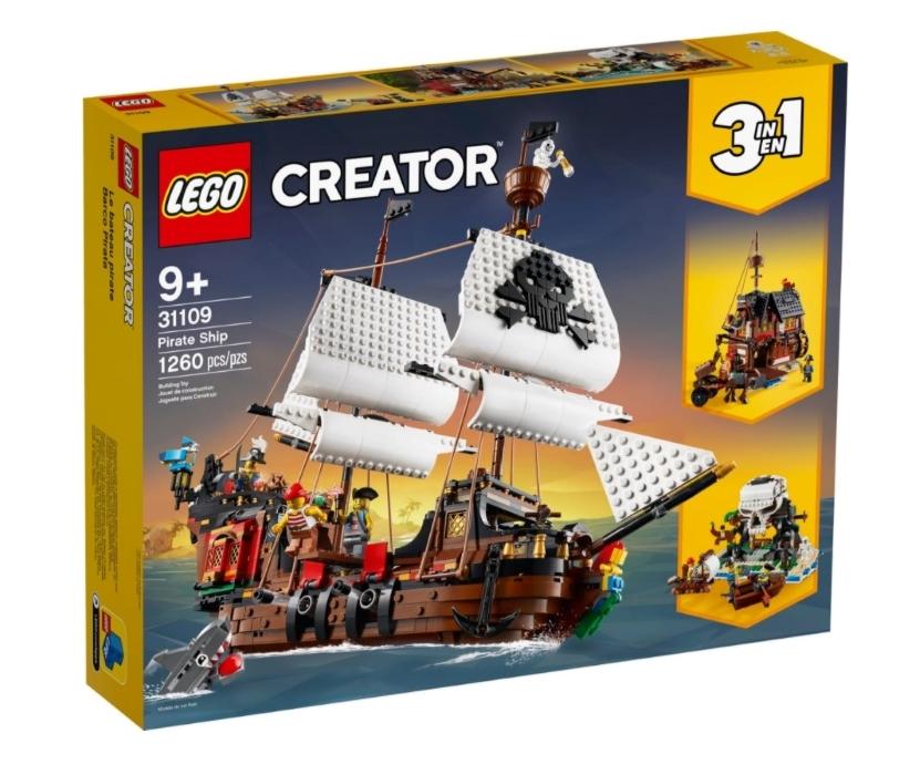 "lego creator 3 in 1 ""pirate ship"""