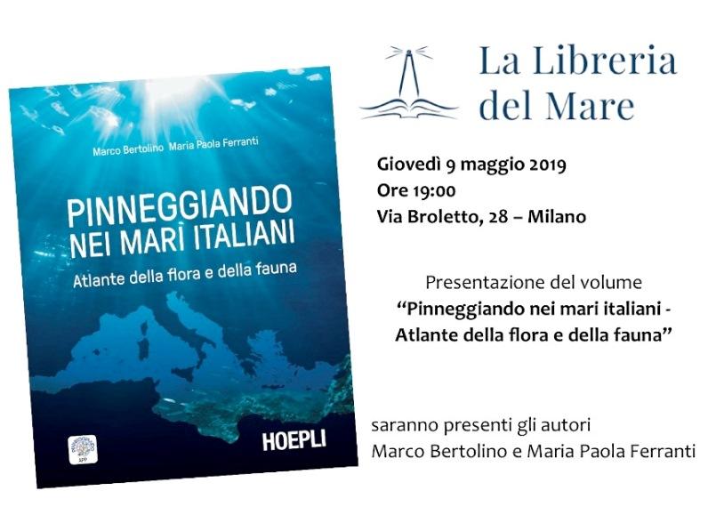 """Presentazione del libro """"Pinneggiando nei mari italiani"""" di Hoepli"""