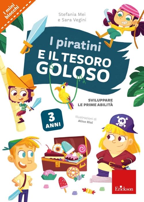 i piratini e il tesoro goloso