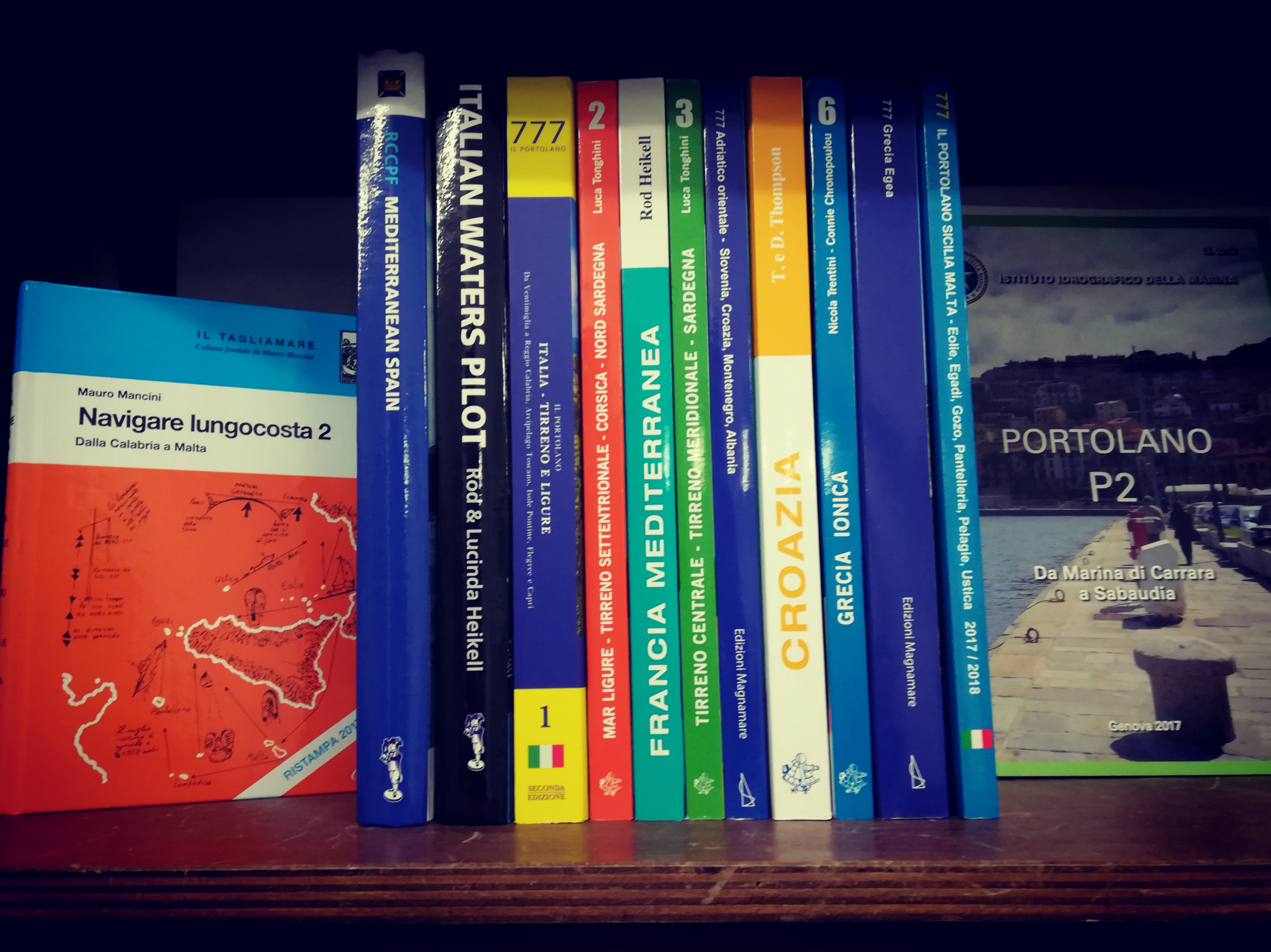 Portolani e guide nautiche