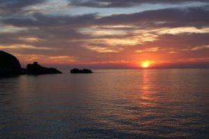 """Racconti di mare: """"Centuri"""" - Storie del porto di Giampaolo Cantini - Tramonto"""