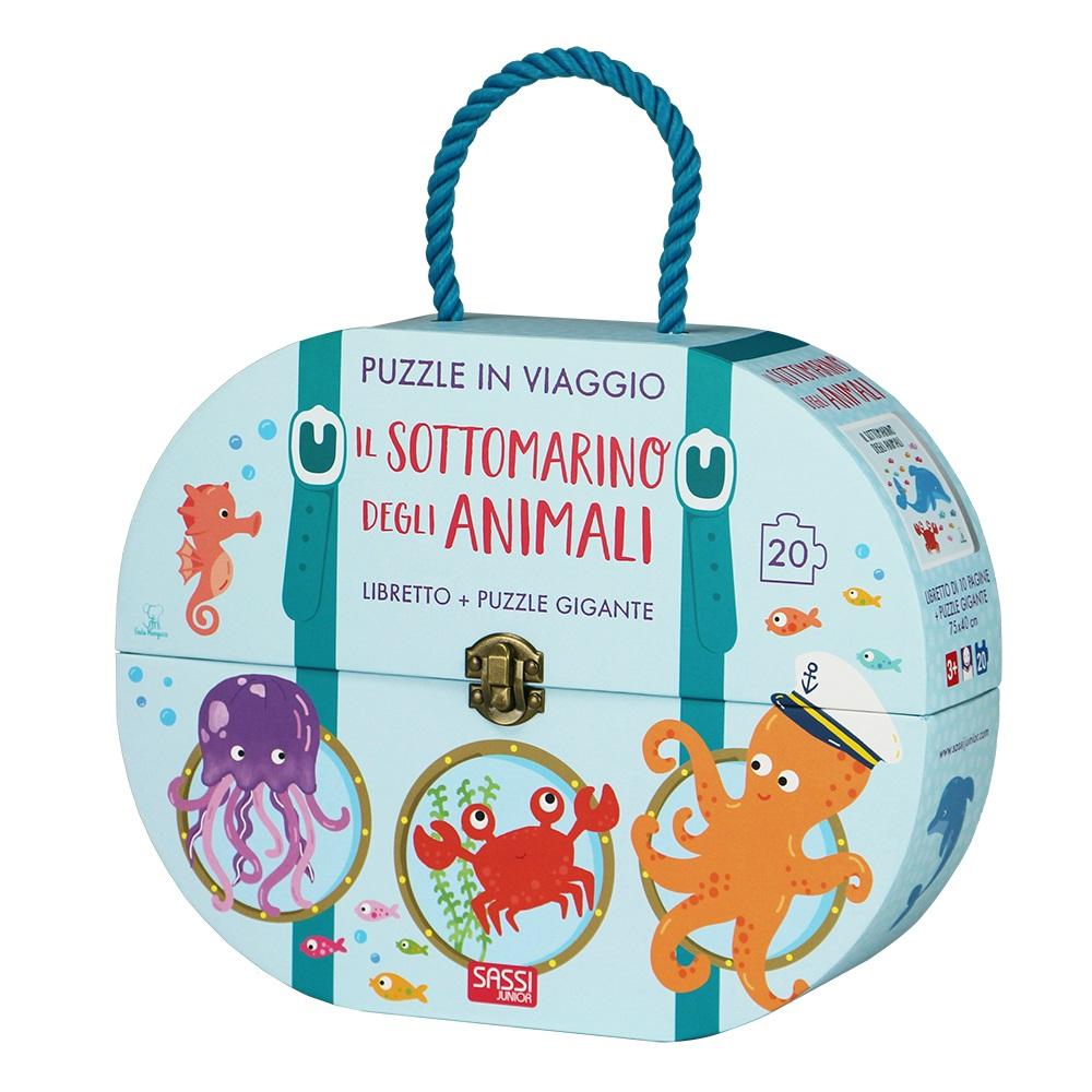 il sottomarino degli animali (puzzle in viaggio)
