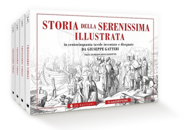 storia della serenissima illustrata
