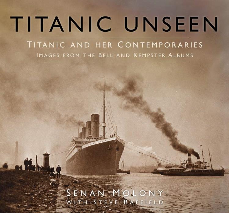 titanic unseen