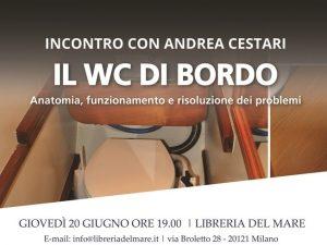 WC di bordo - Andrea Cestari - Edizioni Il Frangente